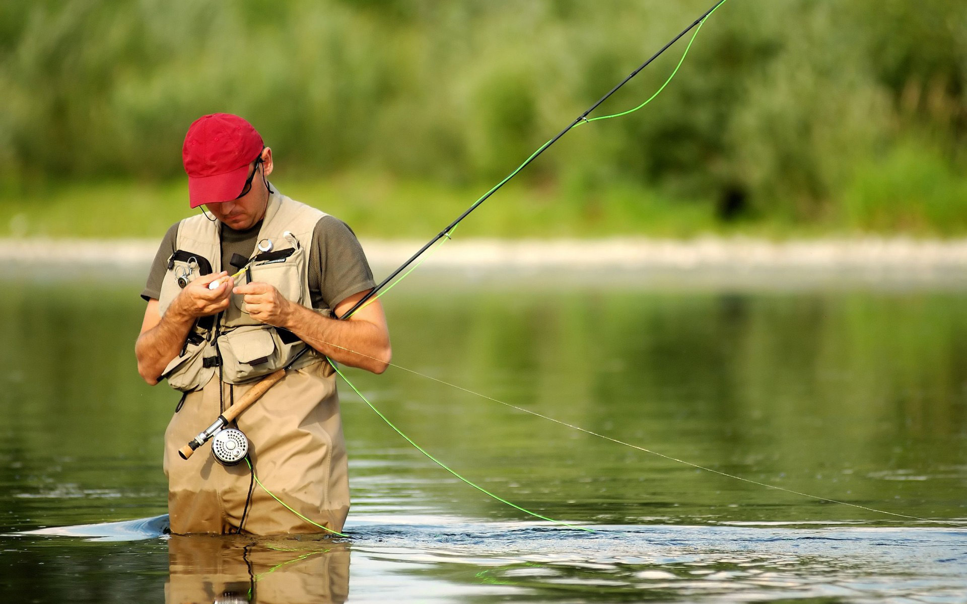 To set this a fisherman fly fishing as wallpaper background on your Desktop, SmartPhone, Tablet, Laptop, iphone, ipad click above to open in a new window in ...