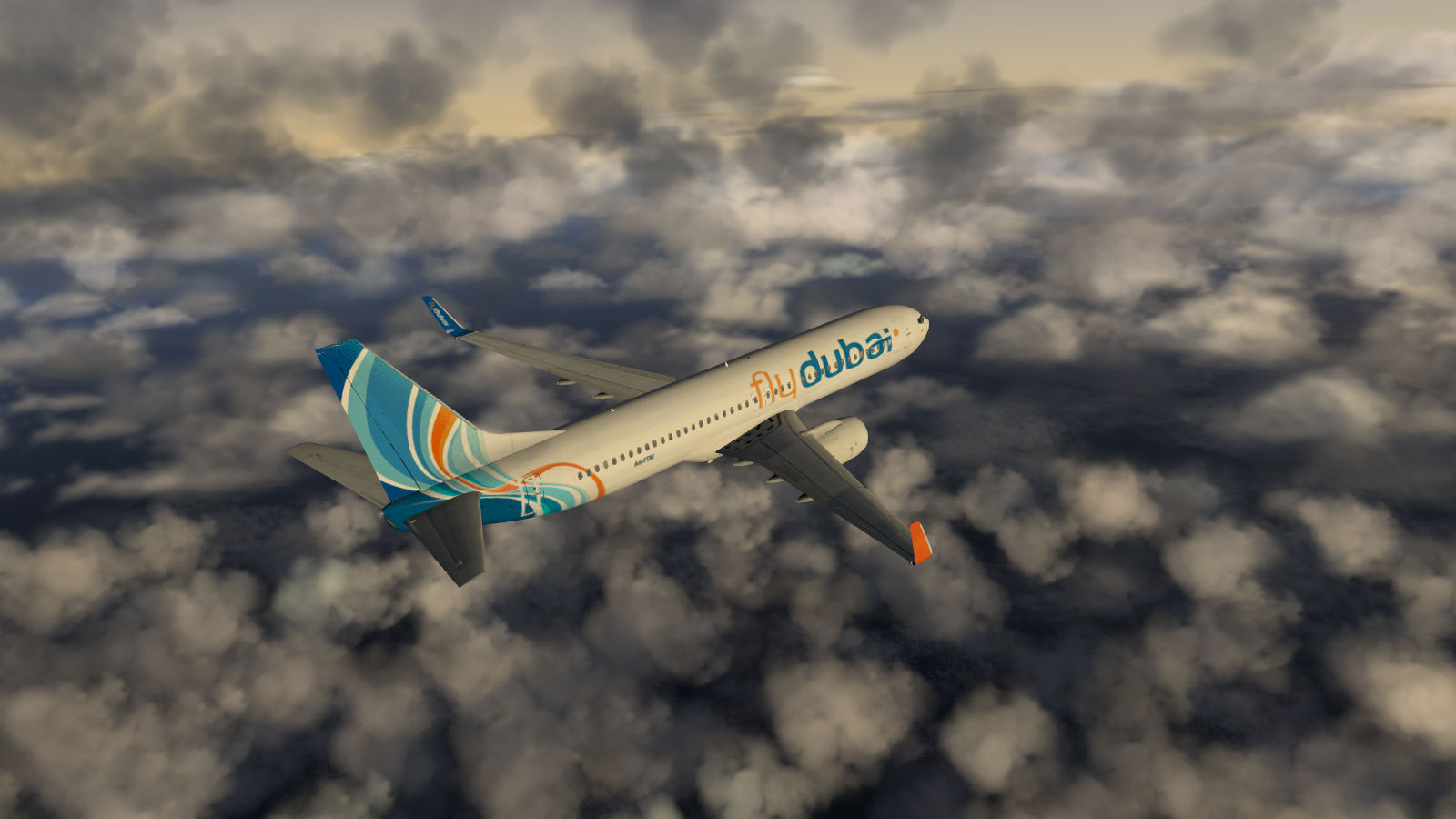 ... Fly Dubai 737-800 infight
