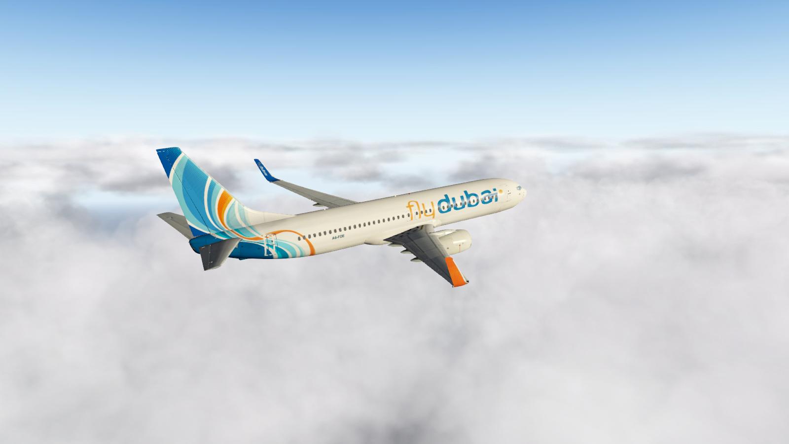 ... 737-800 Fly Dubai ...