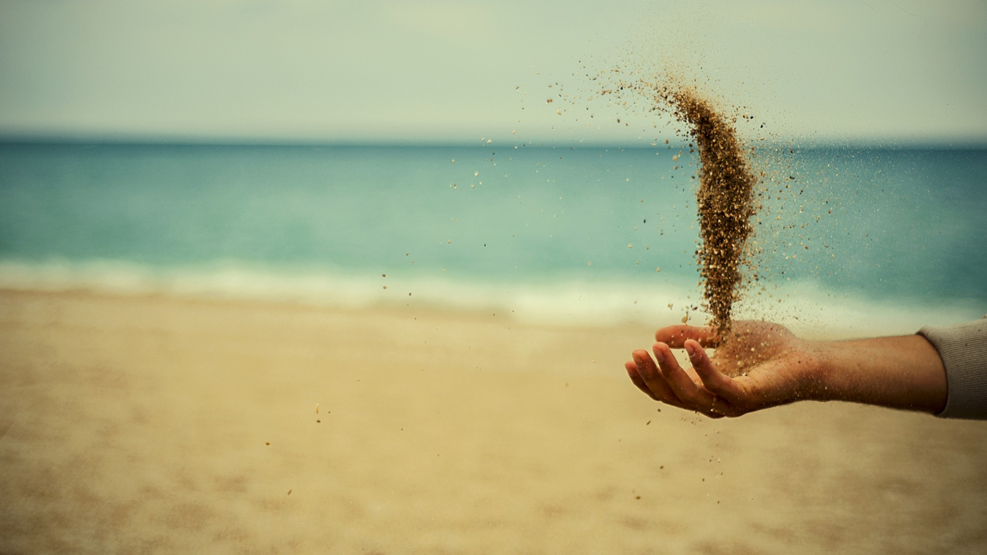 Flying Sand Wallpaper