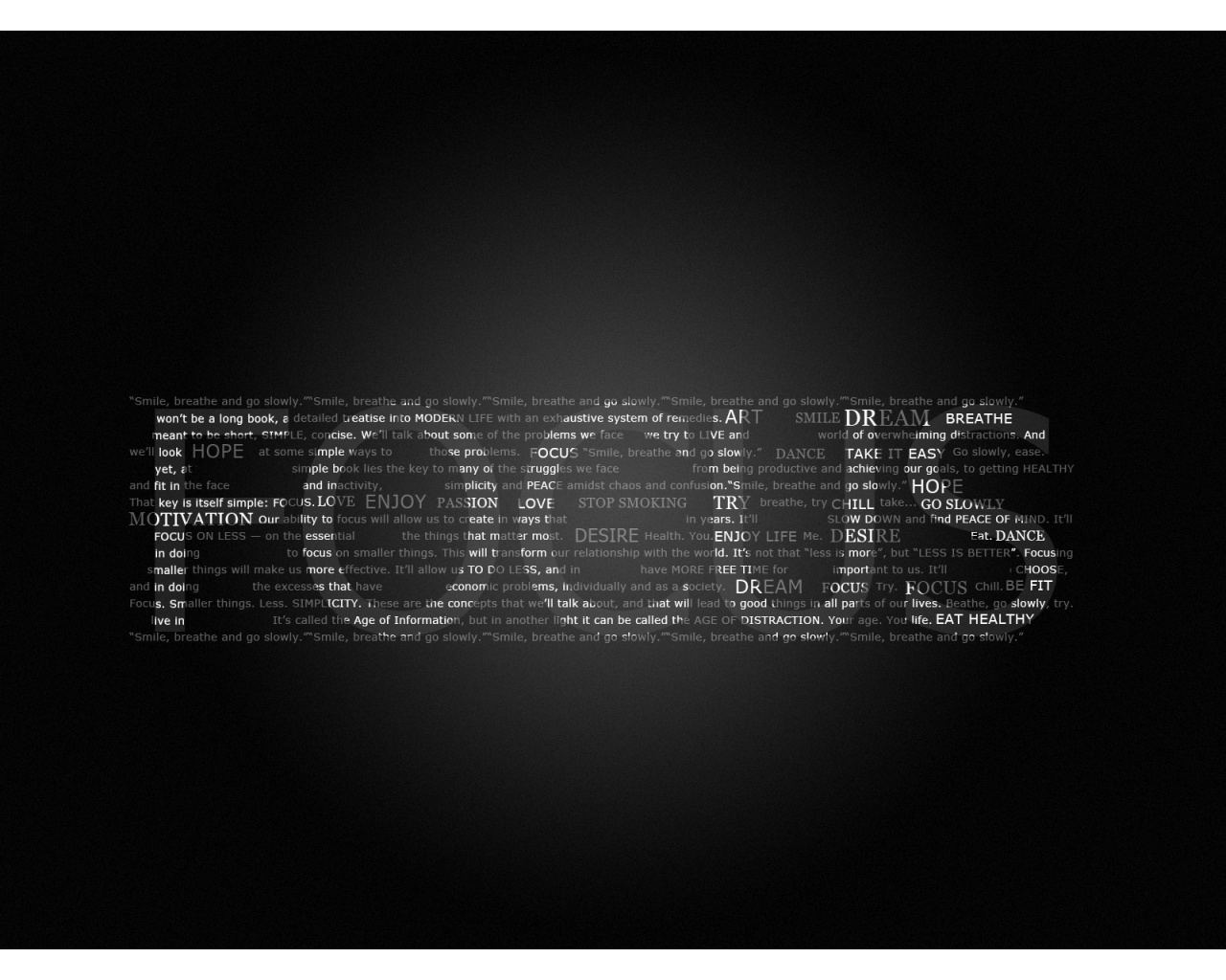 Focus Wallpaper HD