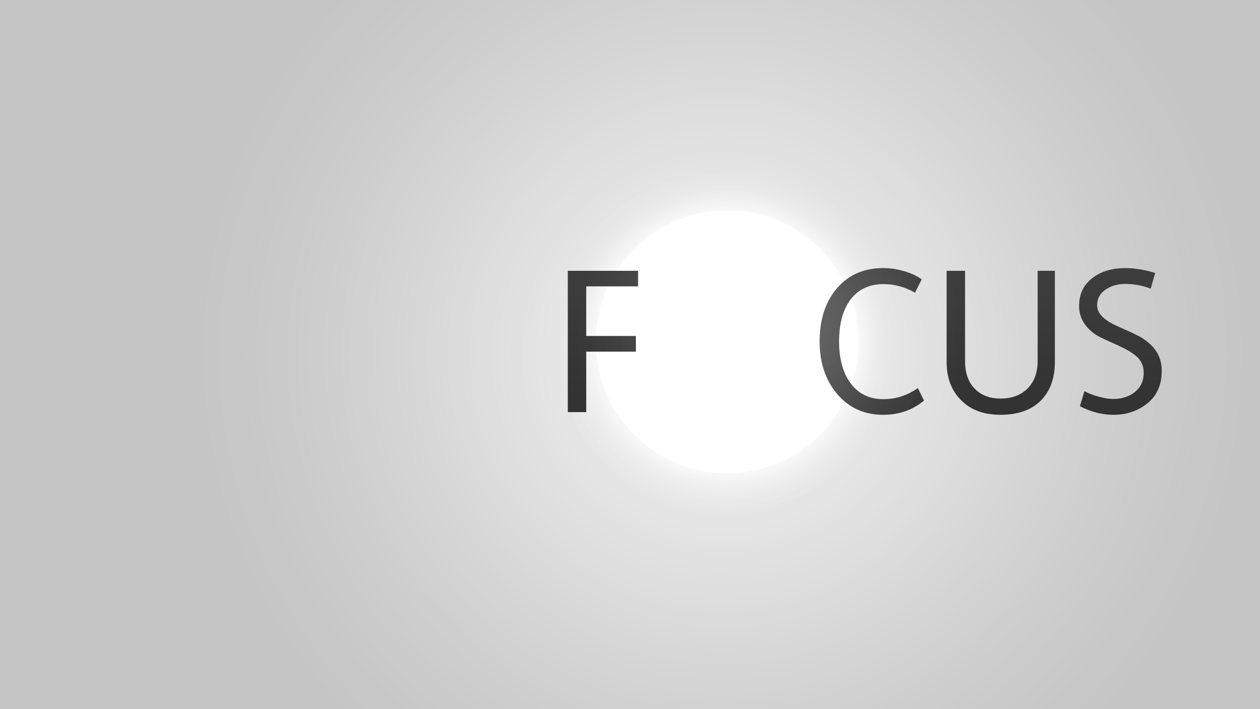 Focus Wallpaper