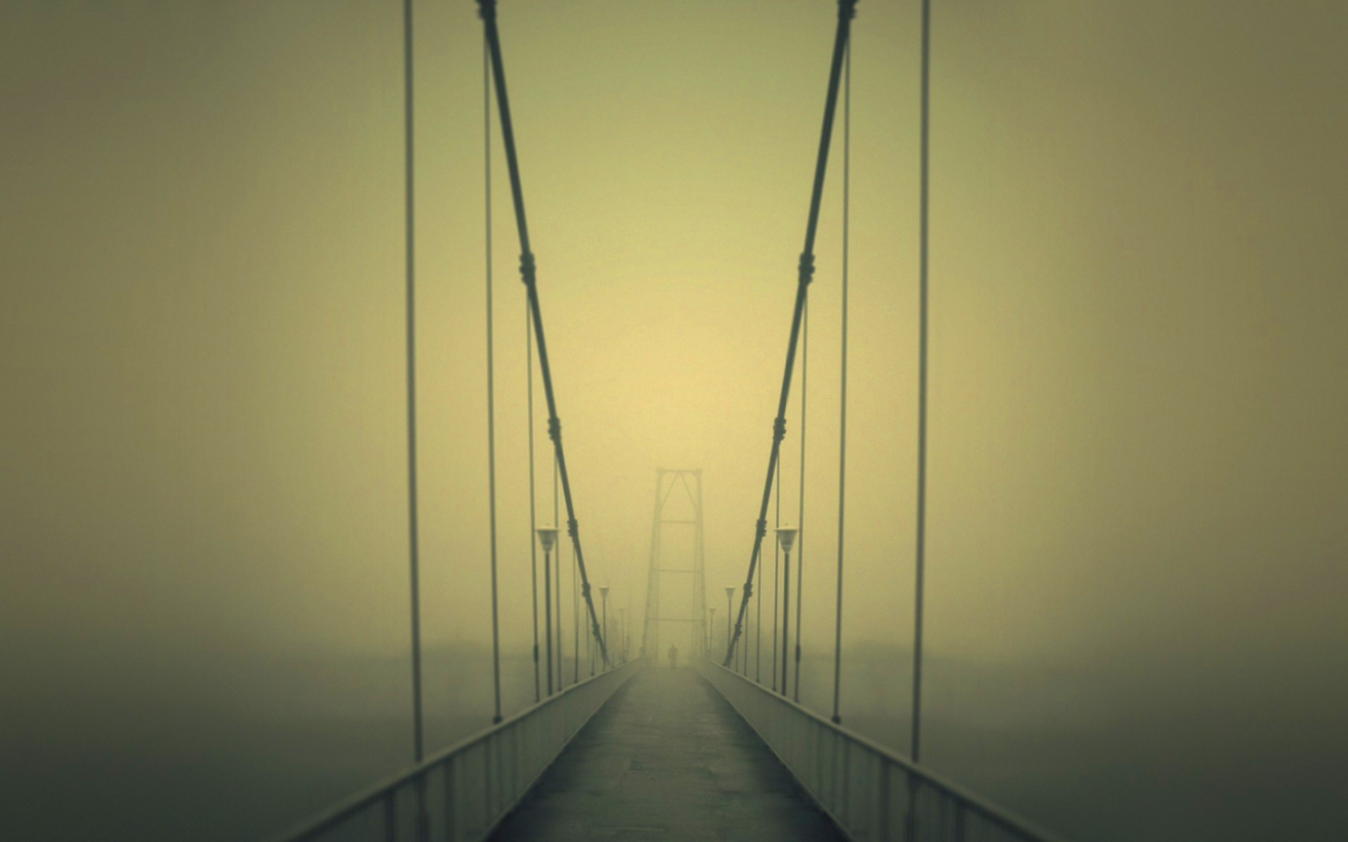 Fog bridge slender man