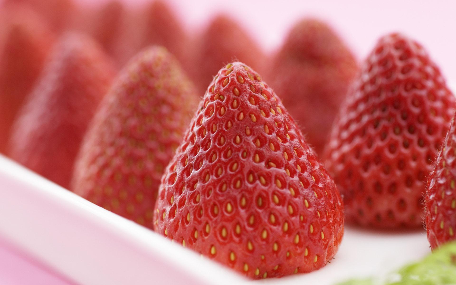 Strawberry Sweet Macro Pics Million Wallpapers Wallpaper Strawberry, food, berry, macro desktop wallpaper