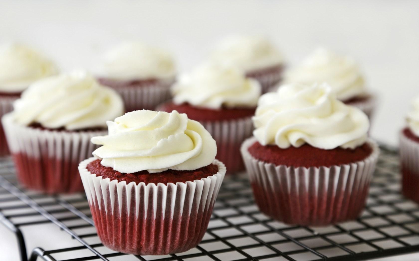Food Cakes Muffins Cream