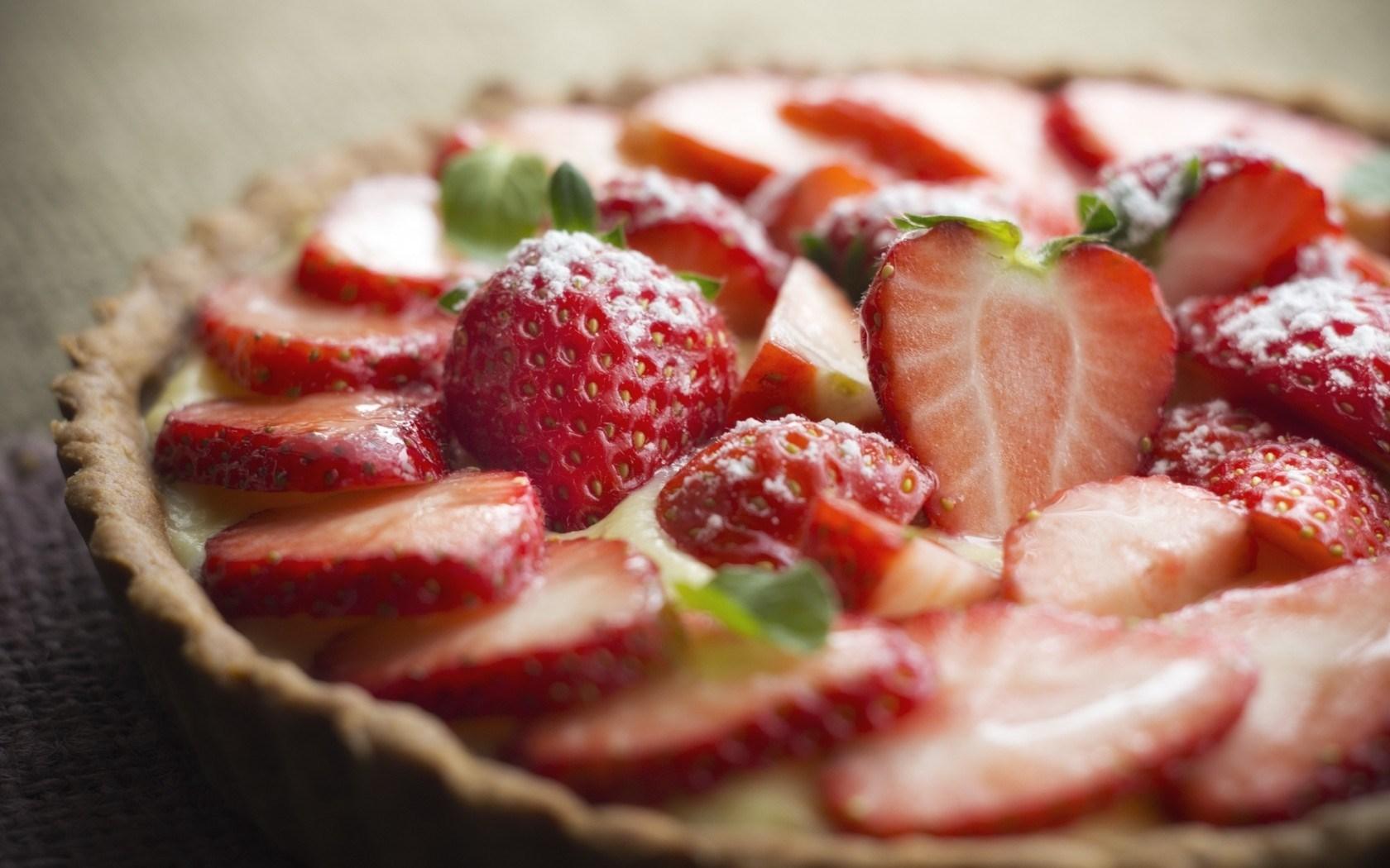 Food Strawberry Berry Cake