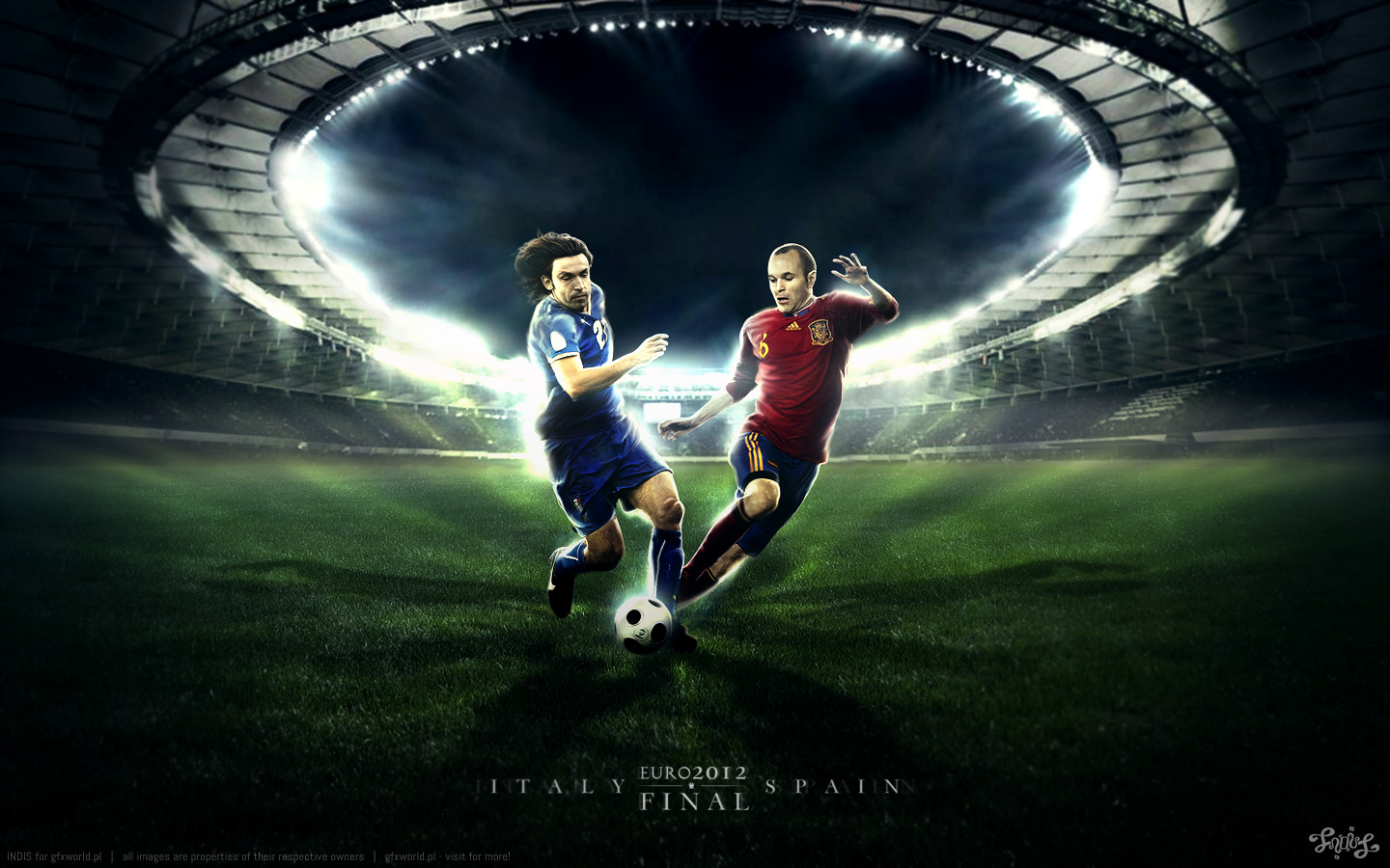 euroitaly vs spain football wallpaper 28