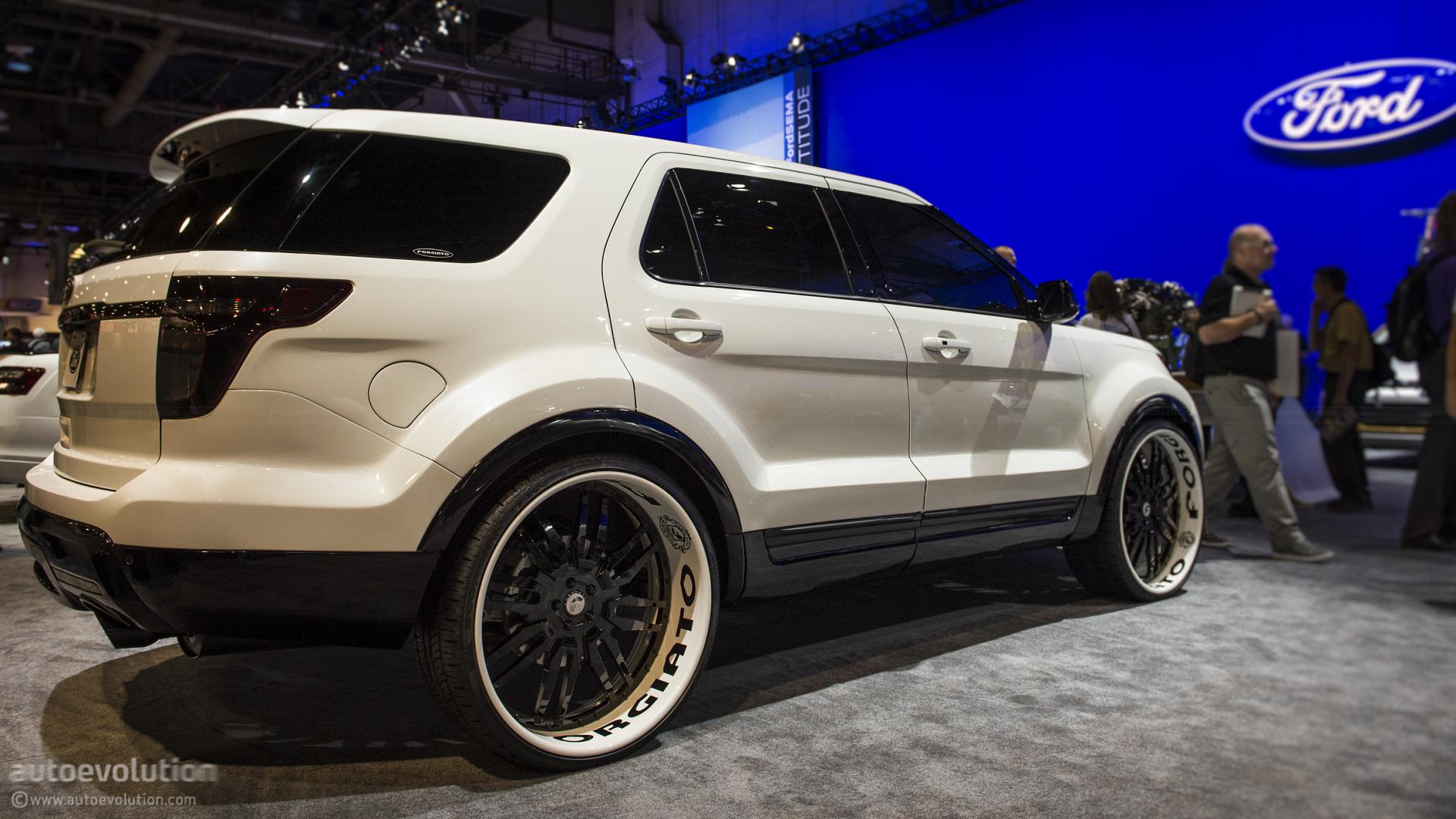 2013 Ford Explorer Sport by Forgiato - photo gallery