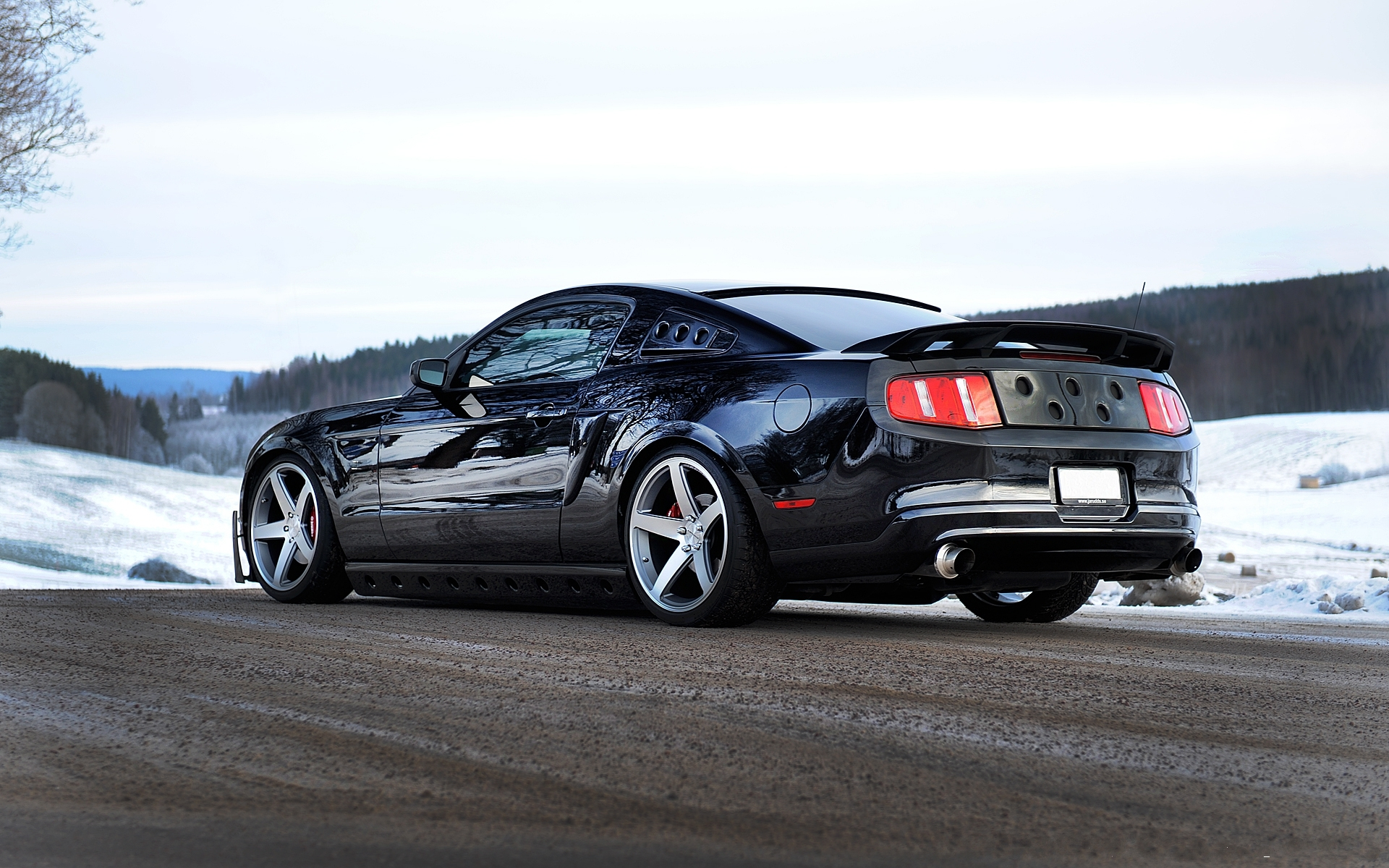 Ford mustang concavo