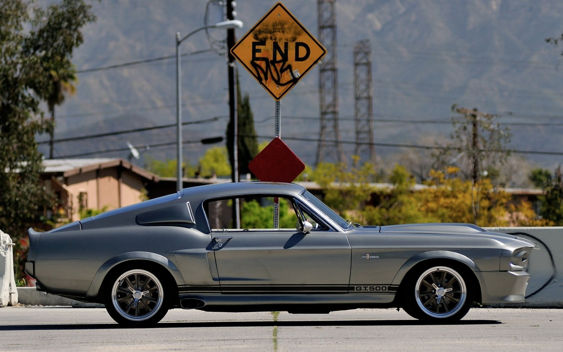 Ford Mustang GT500 Eleanor Muscle Car