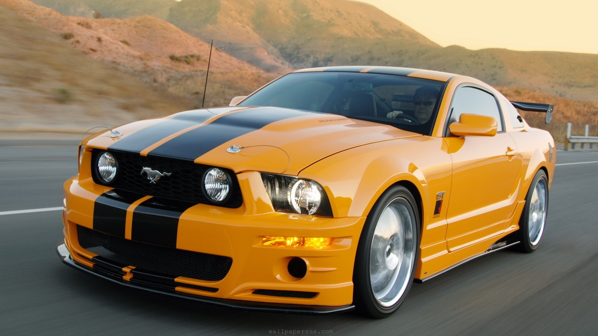 Ford Mustang Tuning Car Photo