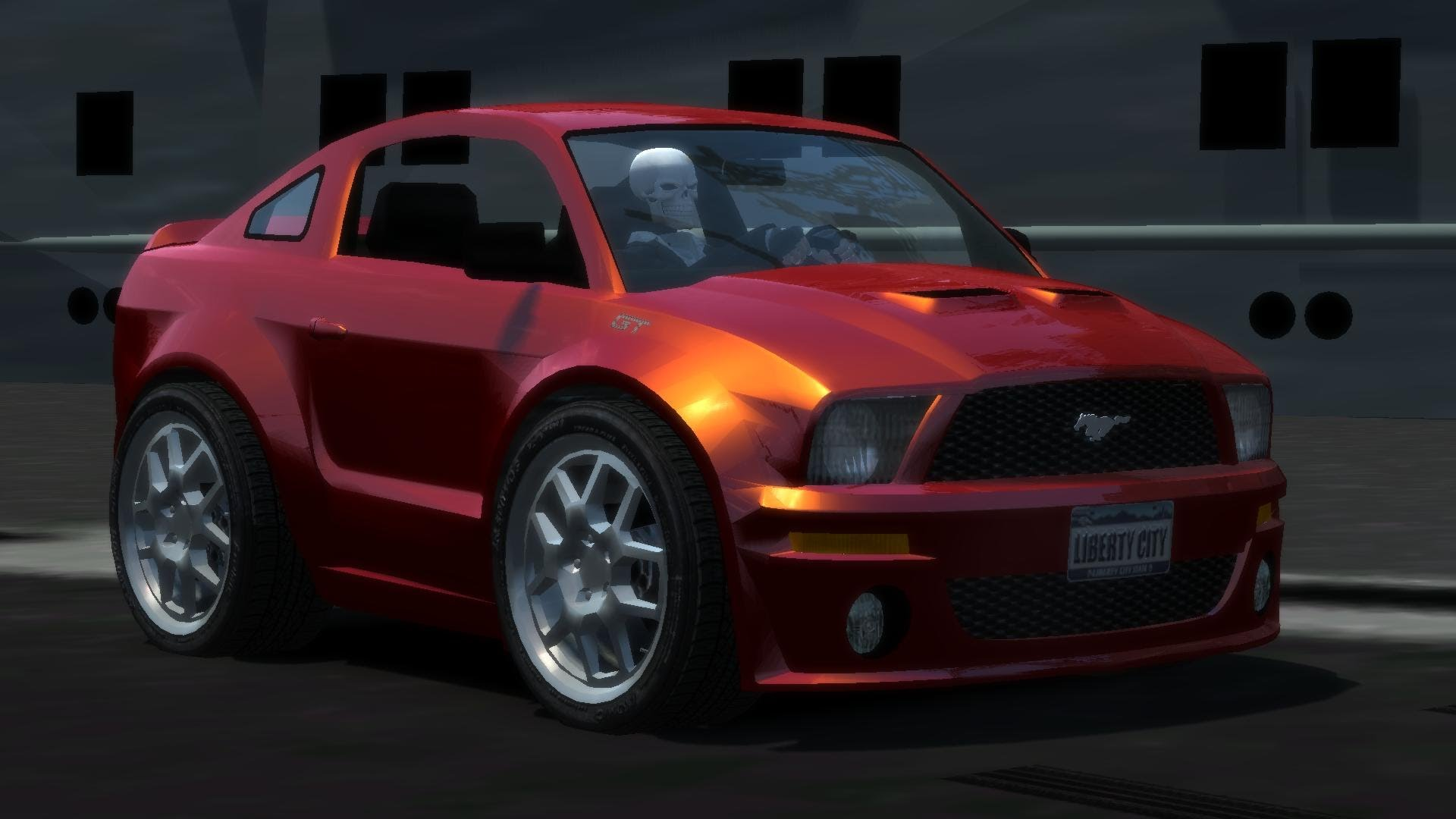 GTA IV Mini Ford Mustang GT Mod Hot Wheels Car Town Crash Testing HD