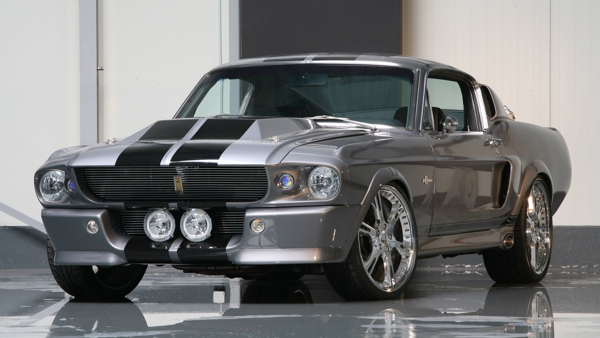 1967 Ford Mustang Shelby GT500 Eleanor, Tuning in 2009 By Wheelsandmore Interior and Exterior