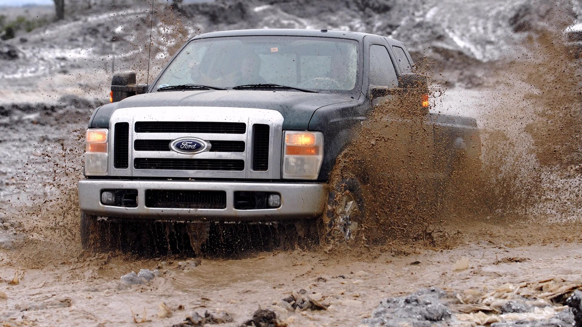 Floods Hit Ford Trucks Wallpapers