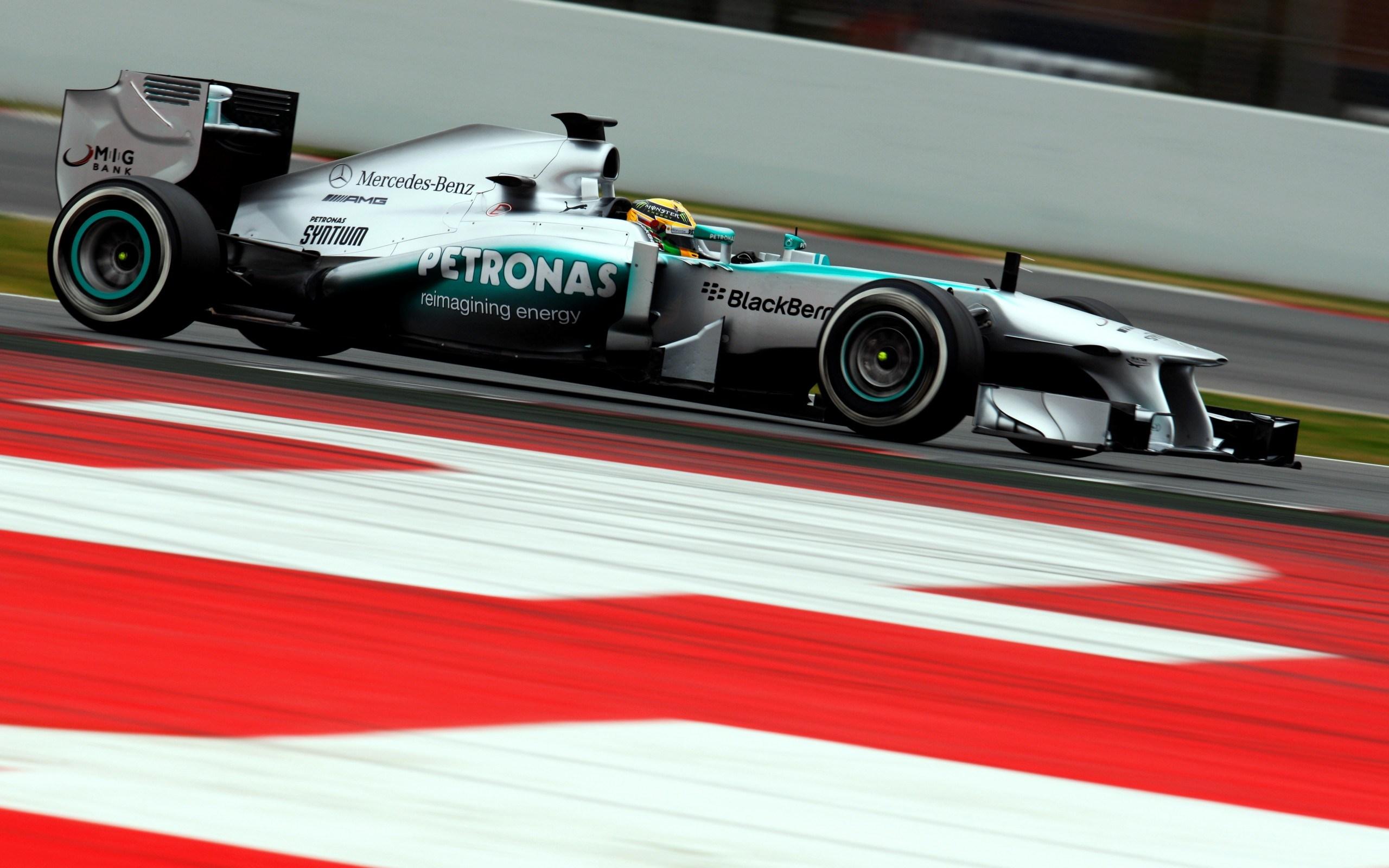 Formula 1 Mercedes Benz Track