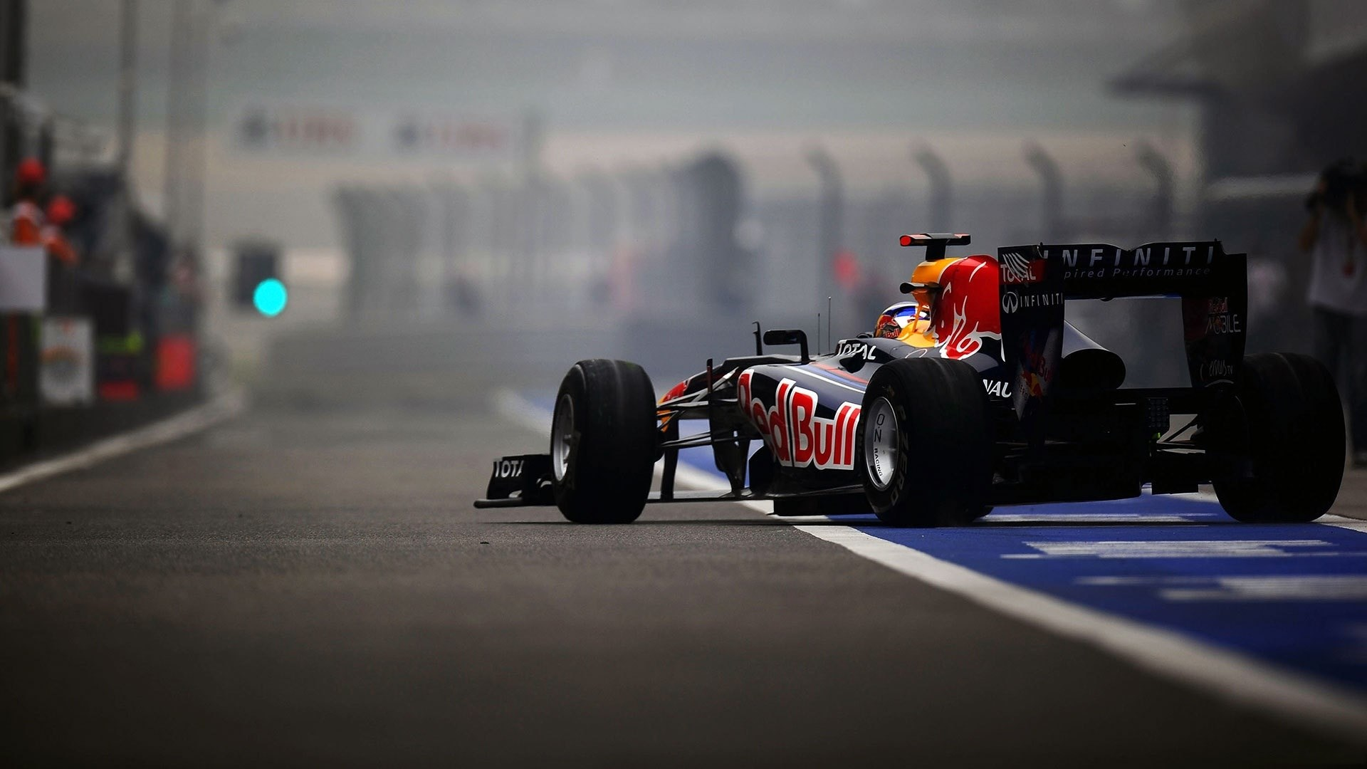 Formula One Red Bull F1 Race Track