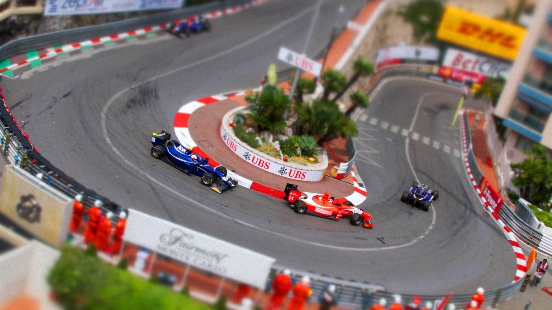 Cars Formula One Race
