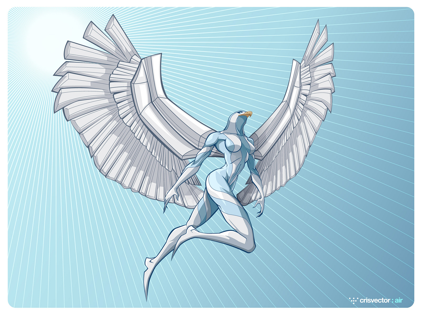 Four Elements : Air by CrisVector Four Elements : Air by CrisVector
