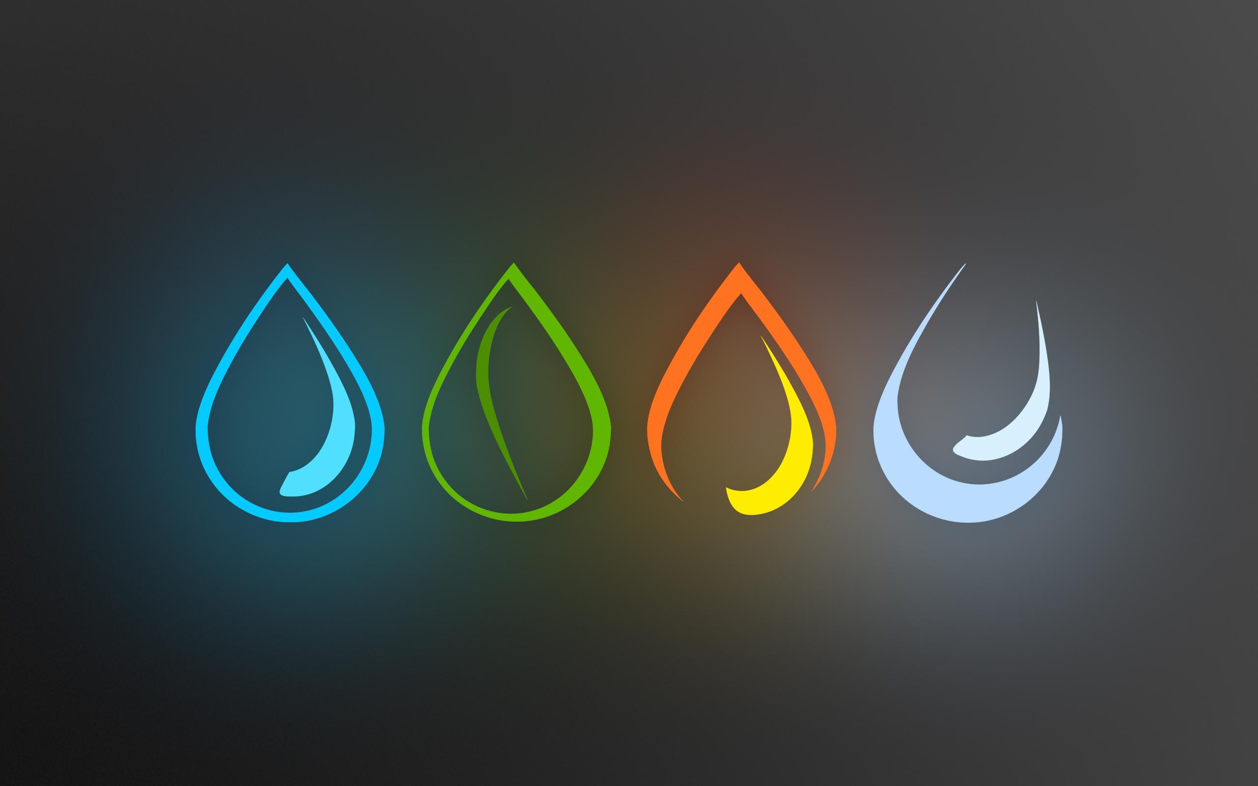 Four elements drops
