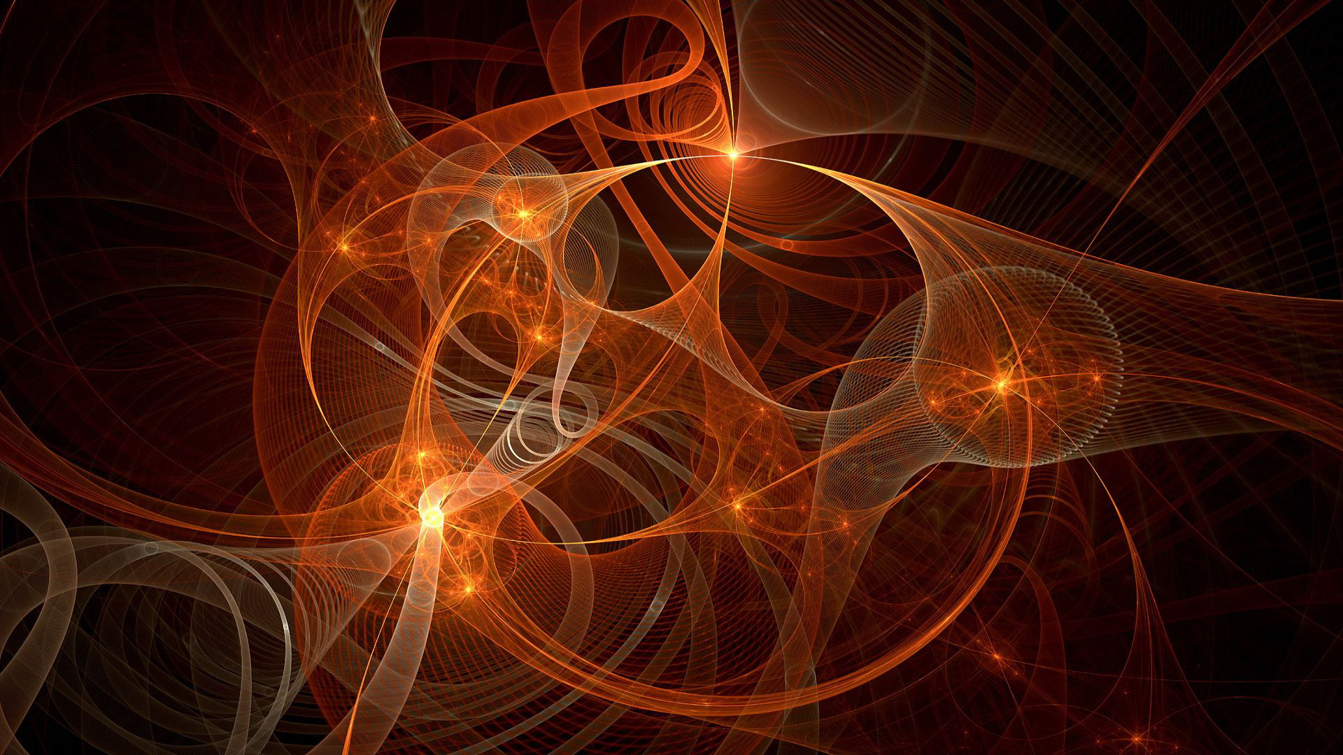 Fractal curves wallpaper