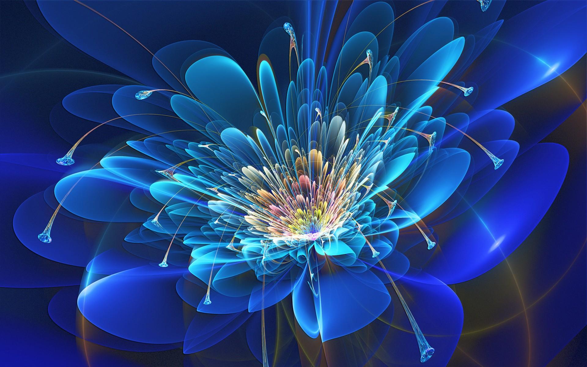 Fractal flower