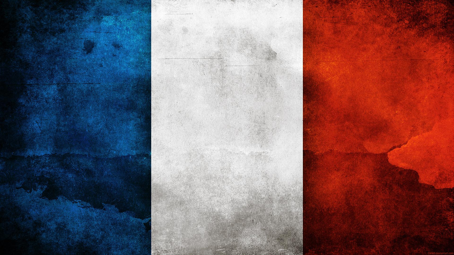 France Flag by think0 France Flag by think0