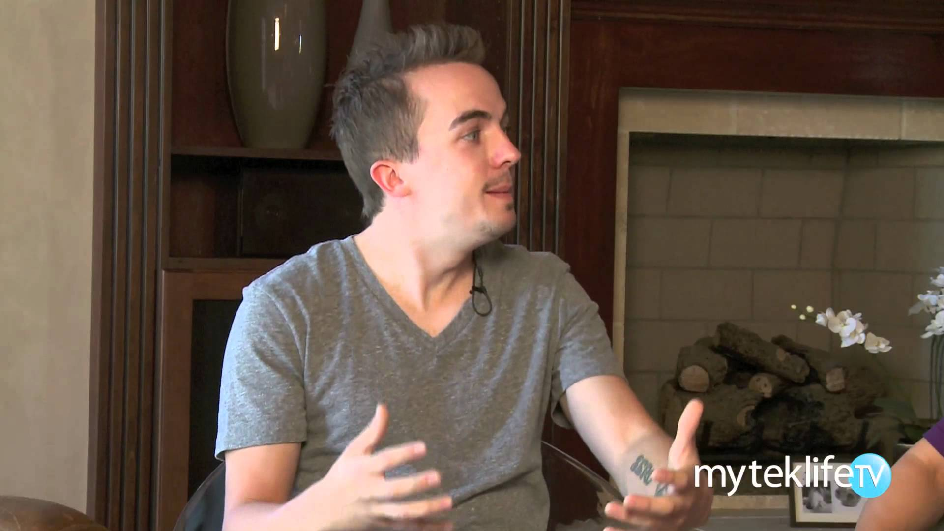 Frankie Muniz Interview Part 1