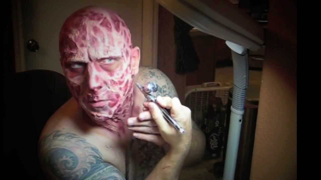 How to - Make up FX - Freddy Krueger - Music by The Abyss