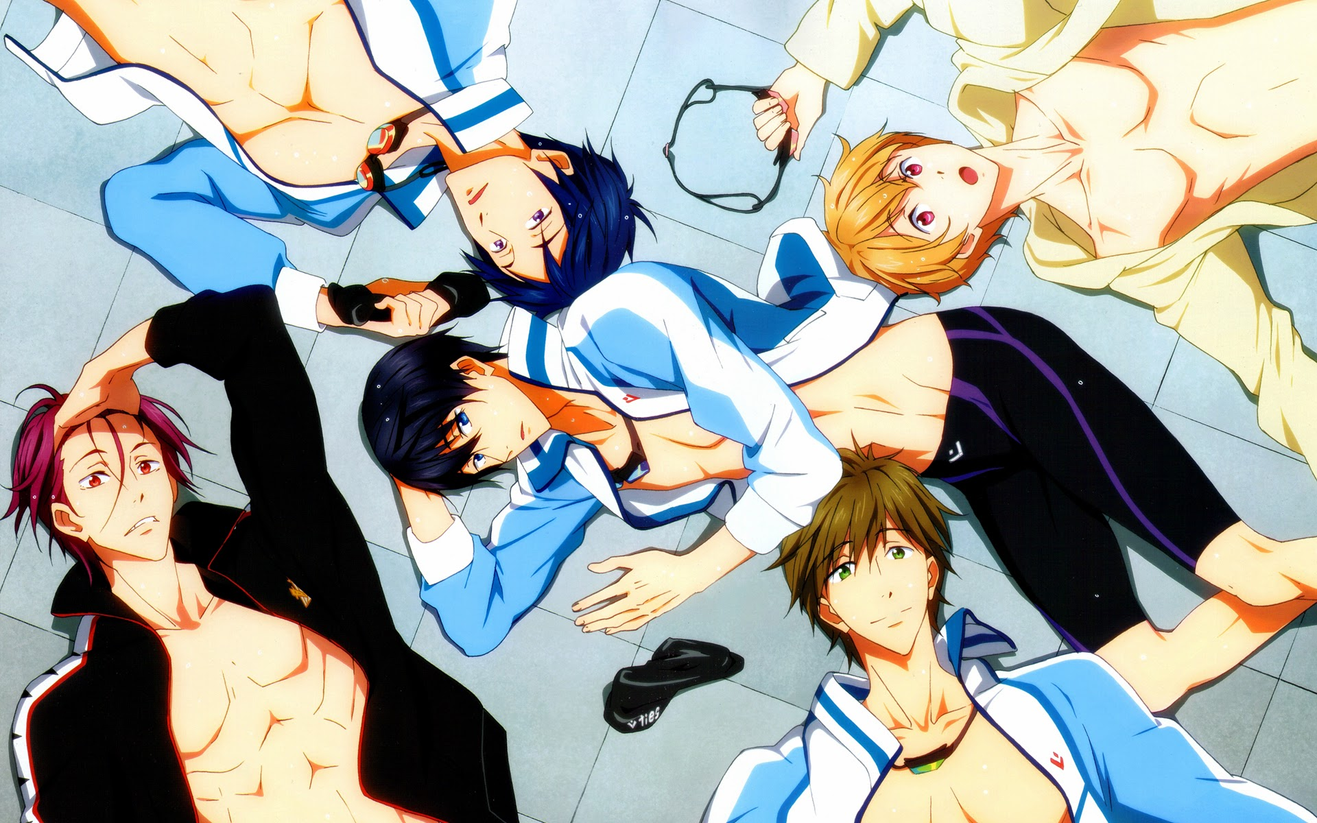 Free! Iwatobi Swim Club Anime 04b HD Wallpaper