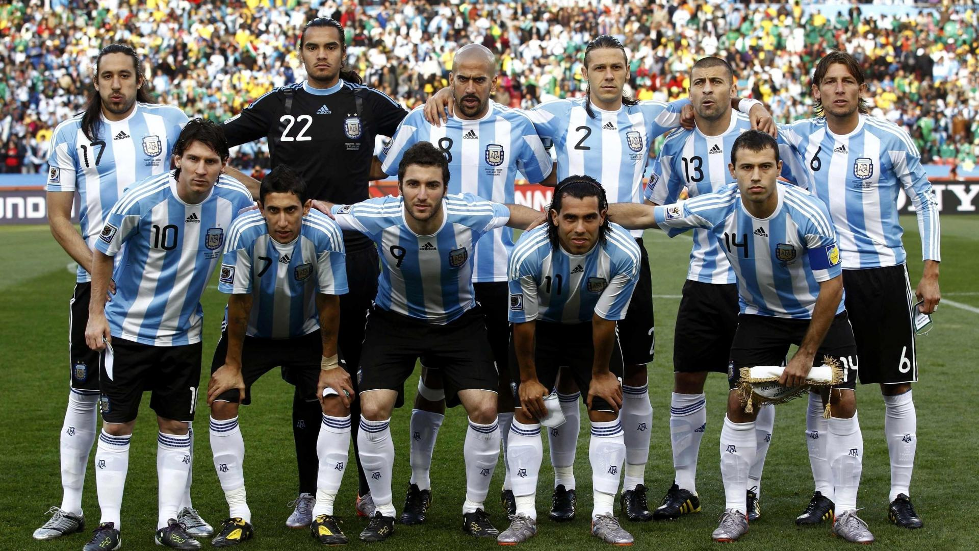 argentina before game
