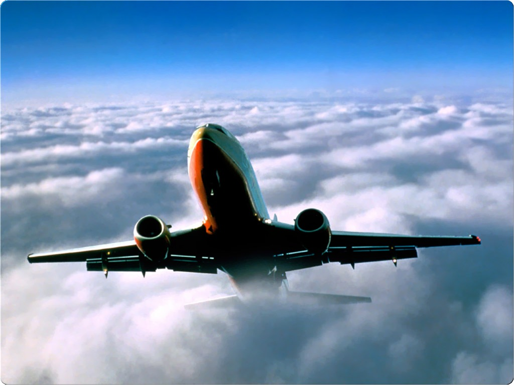 Soaring Above Clouds Boeing Aircraft Aviation Desktop