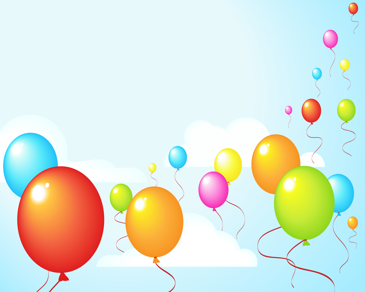 Free Balloon Wallpaper