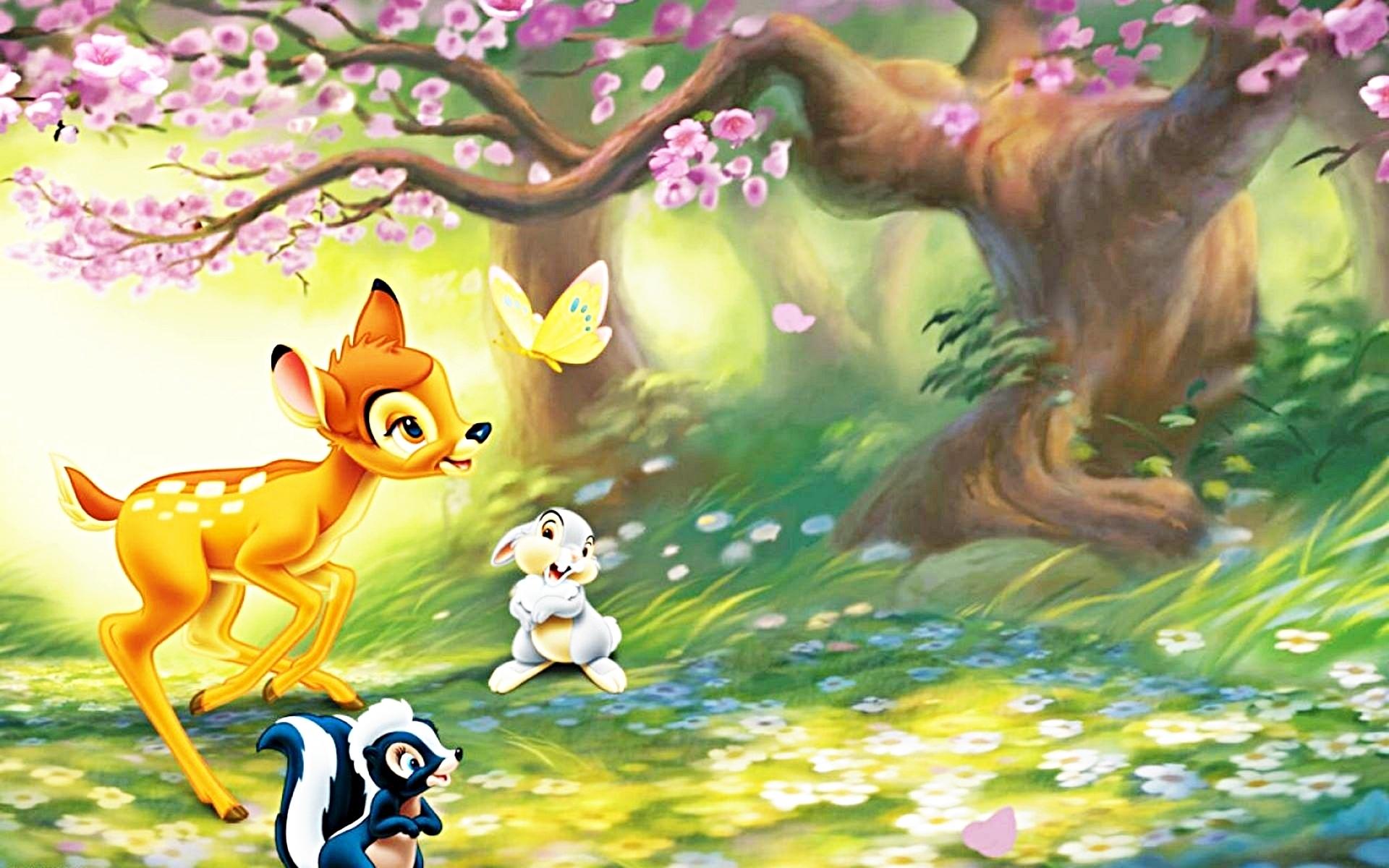 Free Bambi Wallpaper