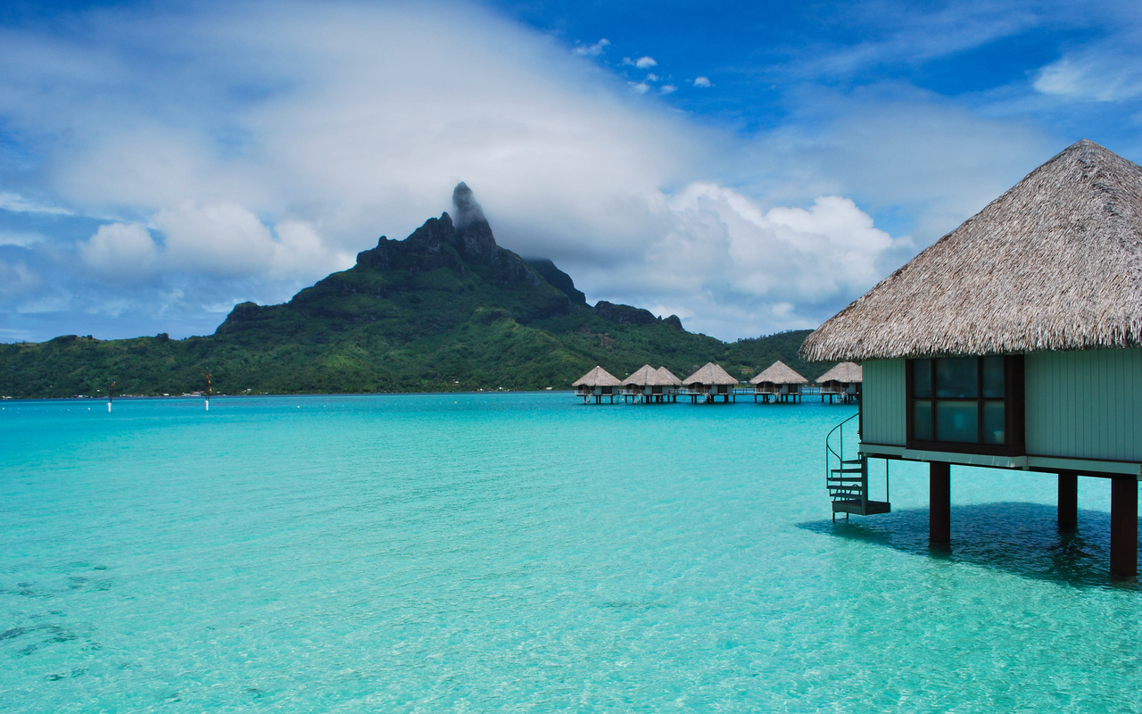 Free Bora Bora Wallpaper