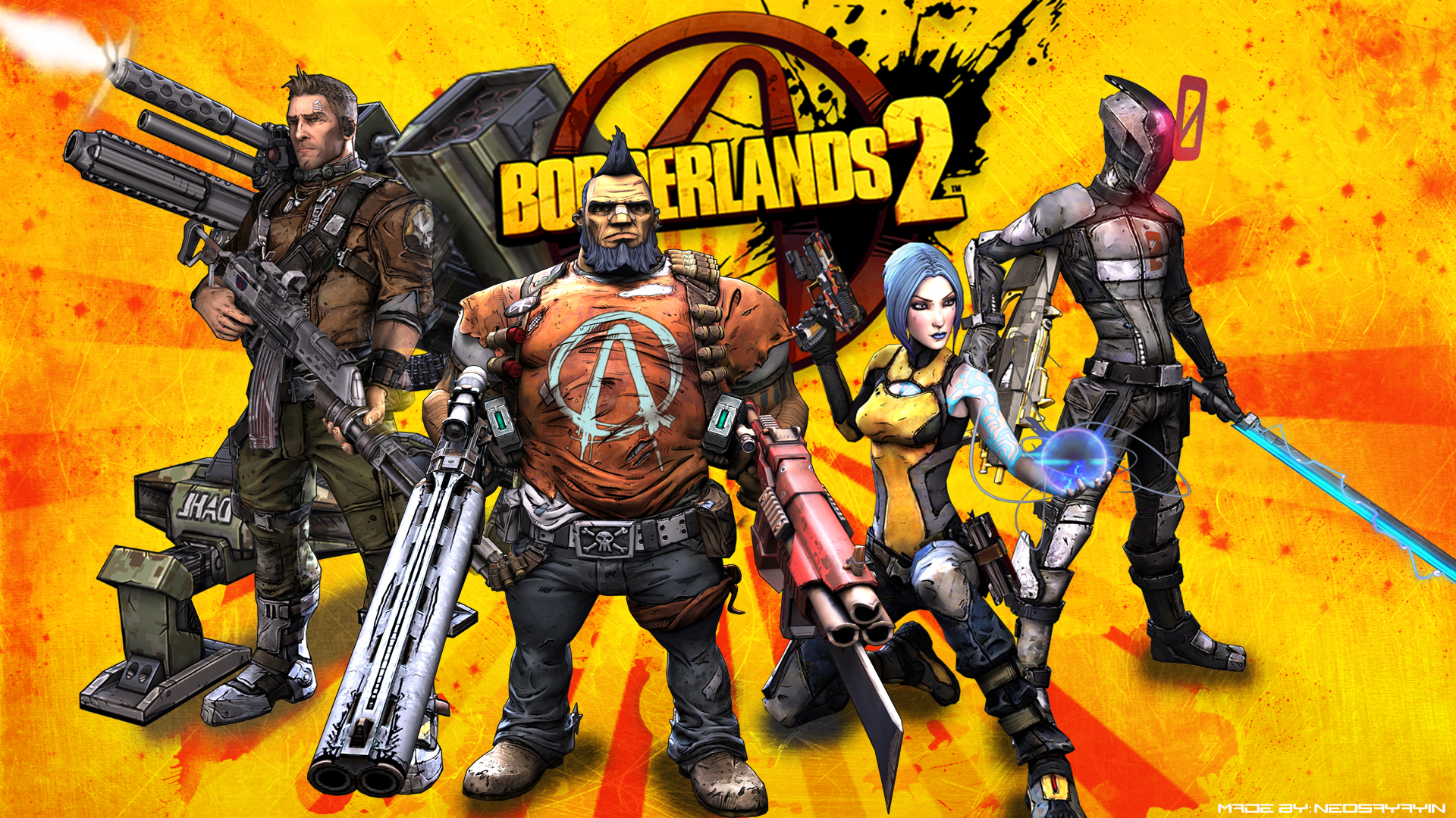 Free Borderlands 2 Wallpaper