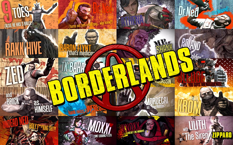 Free Borderlands Wallpaper