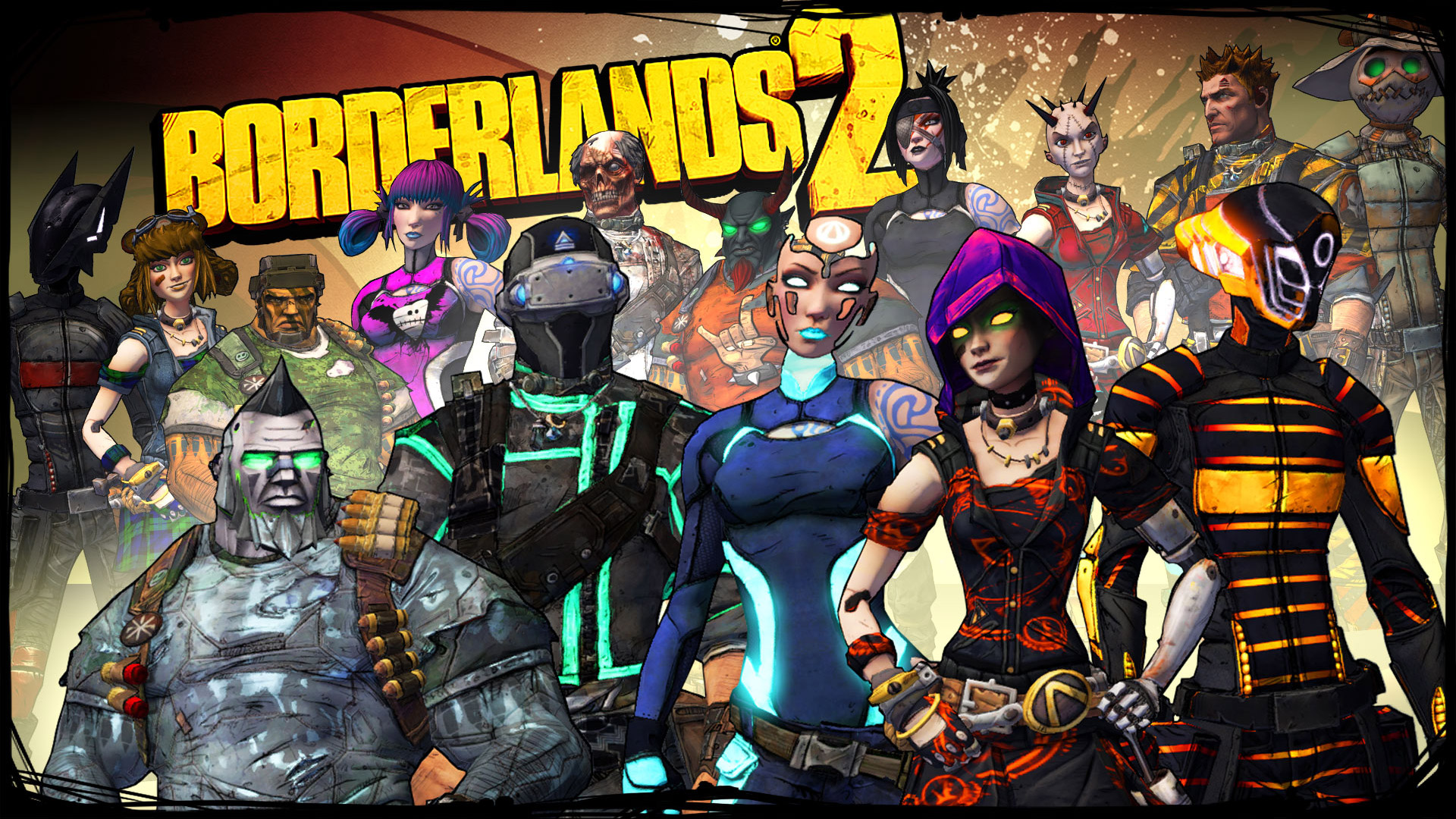 Free Borderlands Wallpaper In