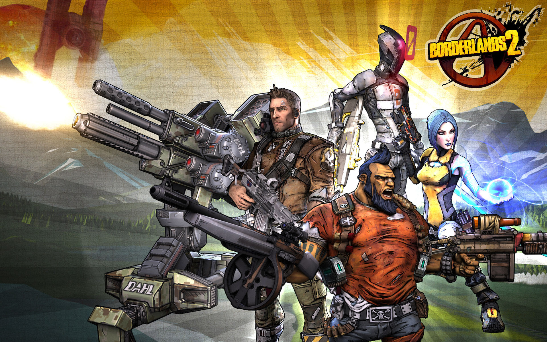 Borderlands Wallpaper 1844