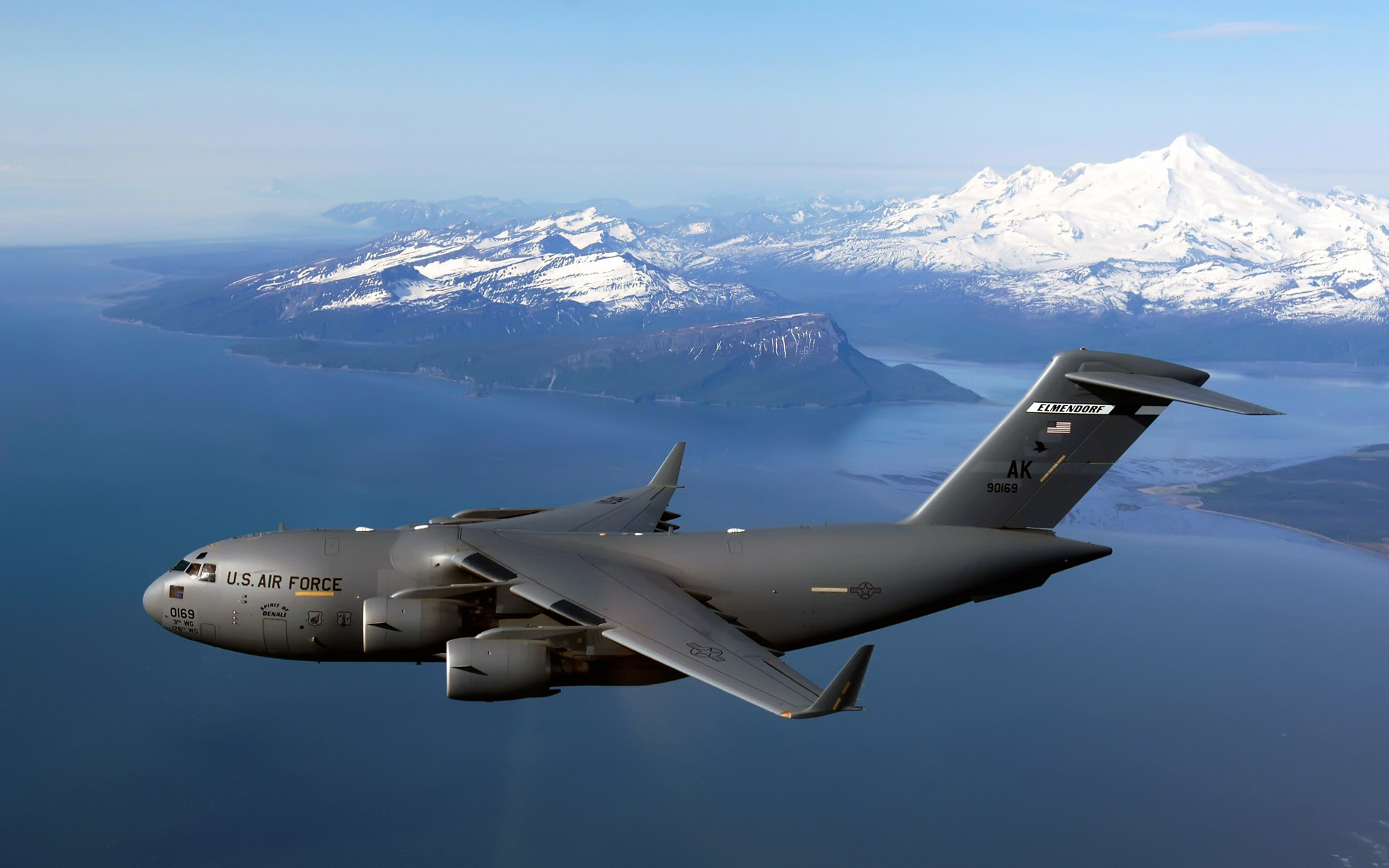 C 17 Globemaster Iii Over Alaska Wallpaper Details and Download Free