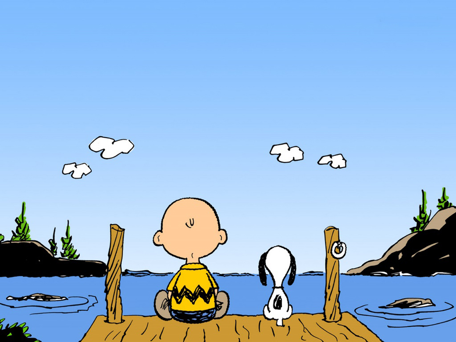 Free Charlie Brown And Snoopy, computer desktop wallpapers, pictures, images