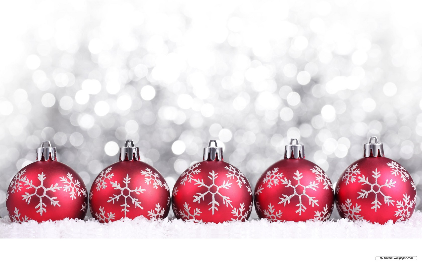 Free christmas ornaments wallpaper 1680x1050 26409 for Holiday christmas ornaments