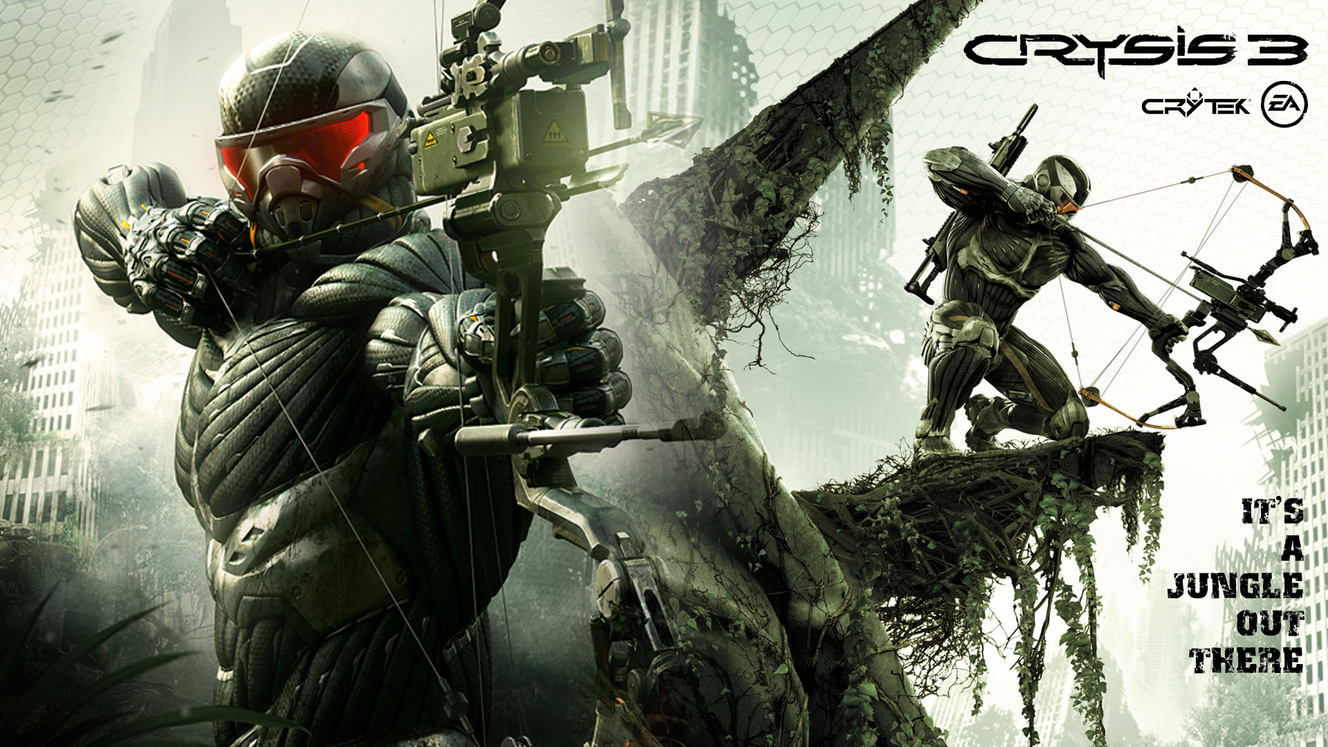 Free Crysis 3 Wallpaper