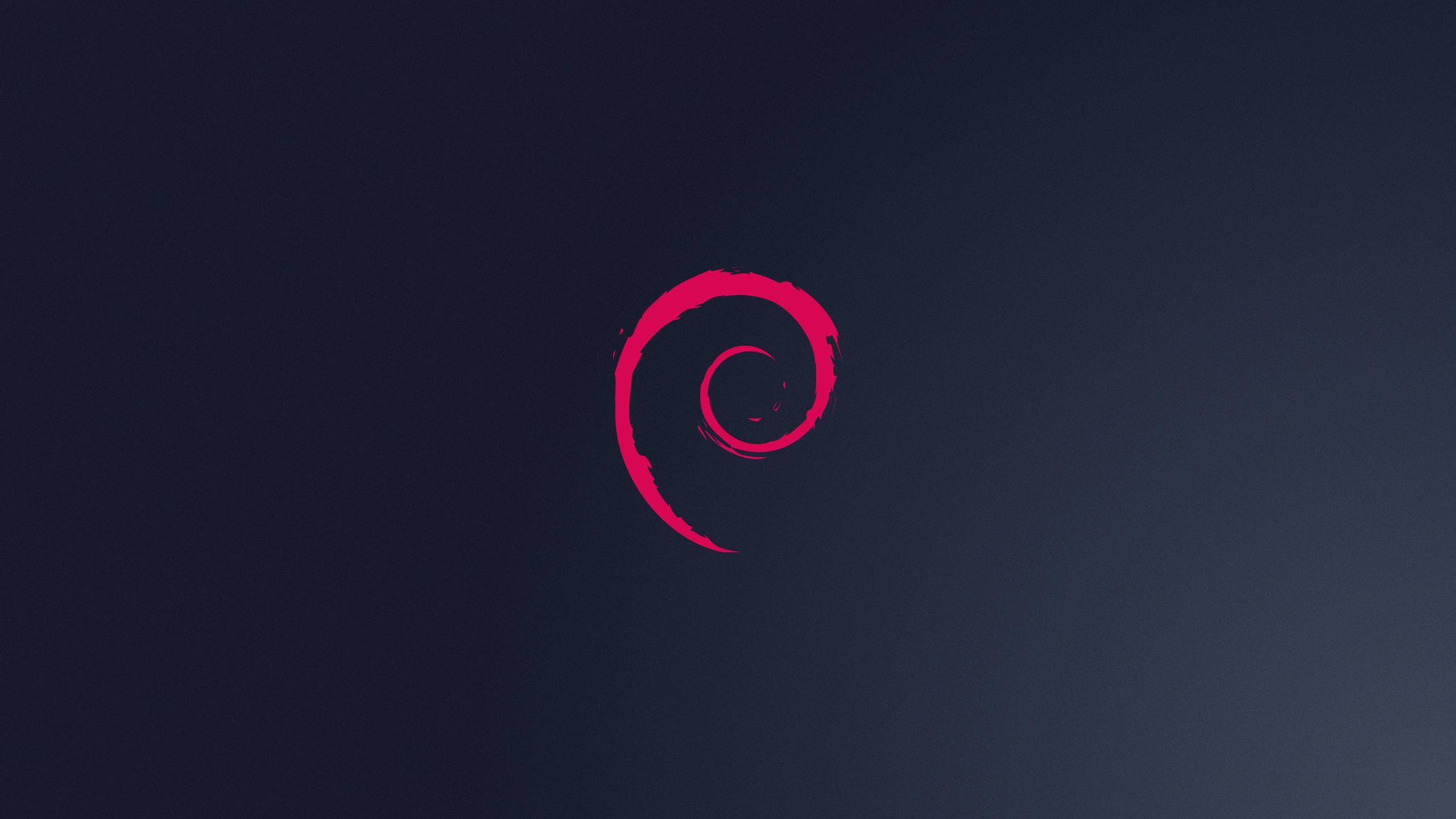 Free Debian Logo Wallpaper