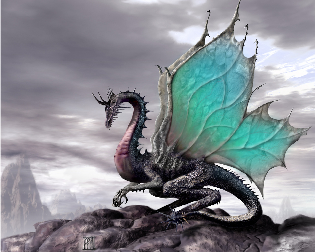 Free Background Dragon