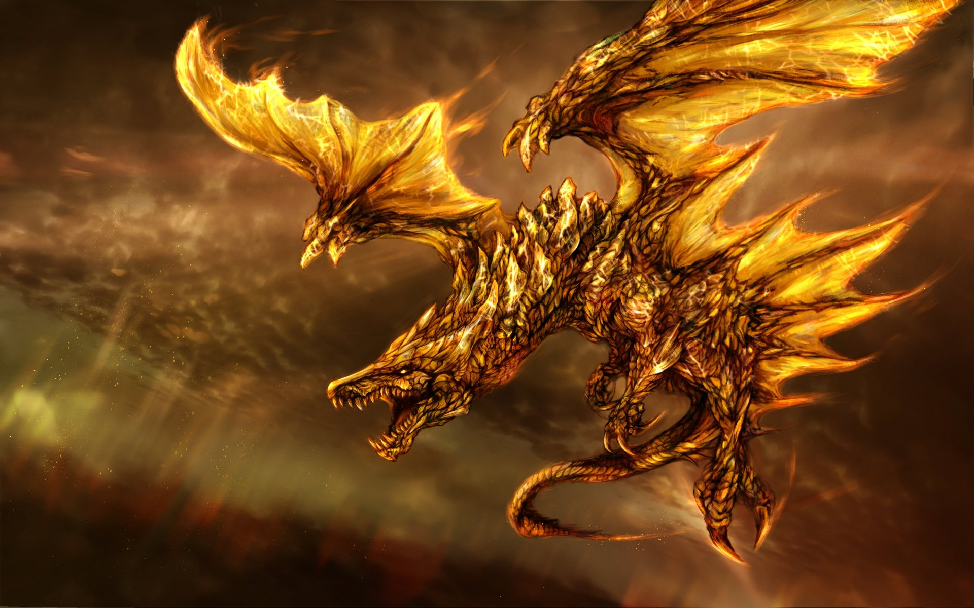 Free Dragon Wallpaper