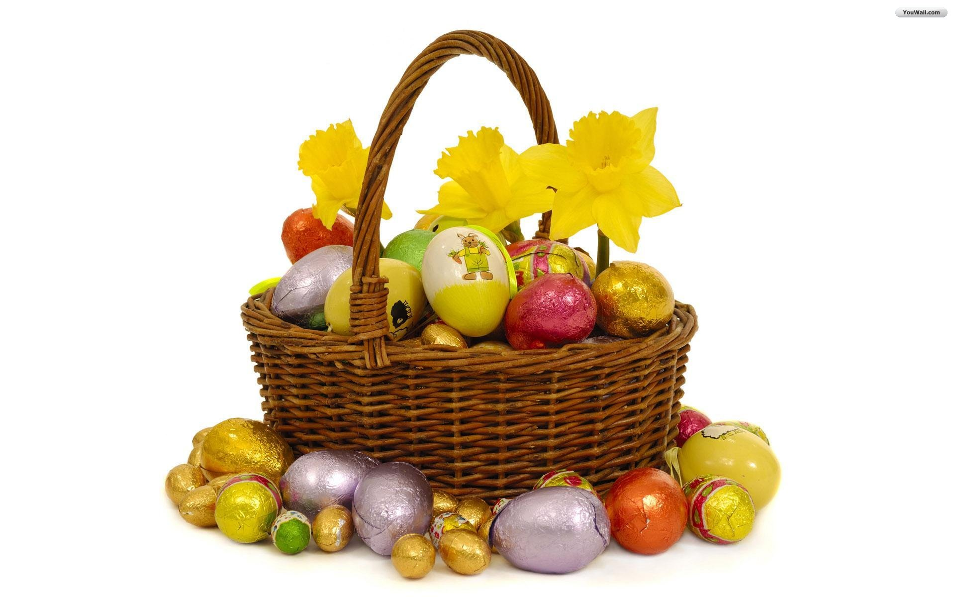 Free Easter Basket Wallpaper