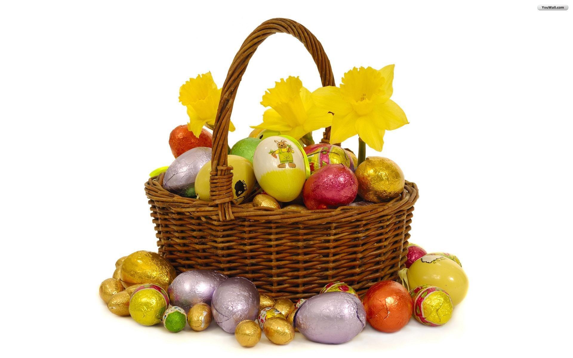 Free Easter Basket Wallpaper 40394 1920x1080 px