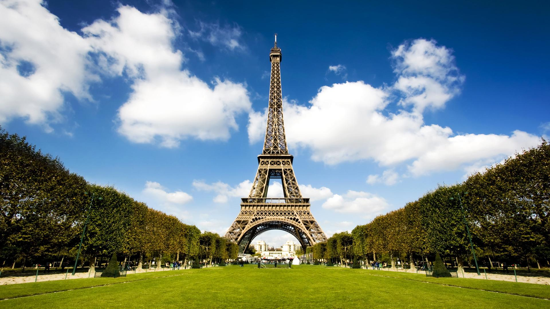 Eiffel Tower Hd Wallpaper Picture 1920x1080px