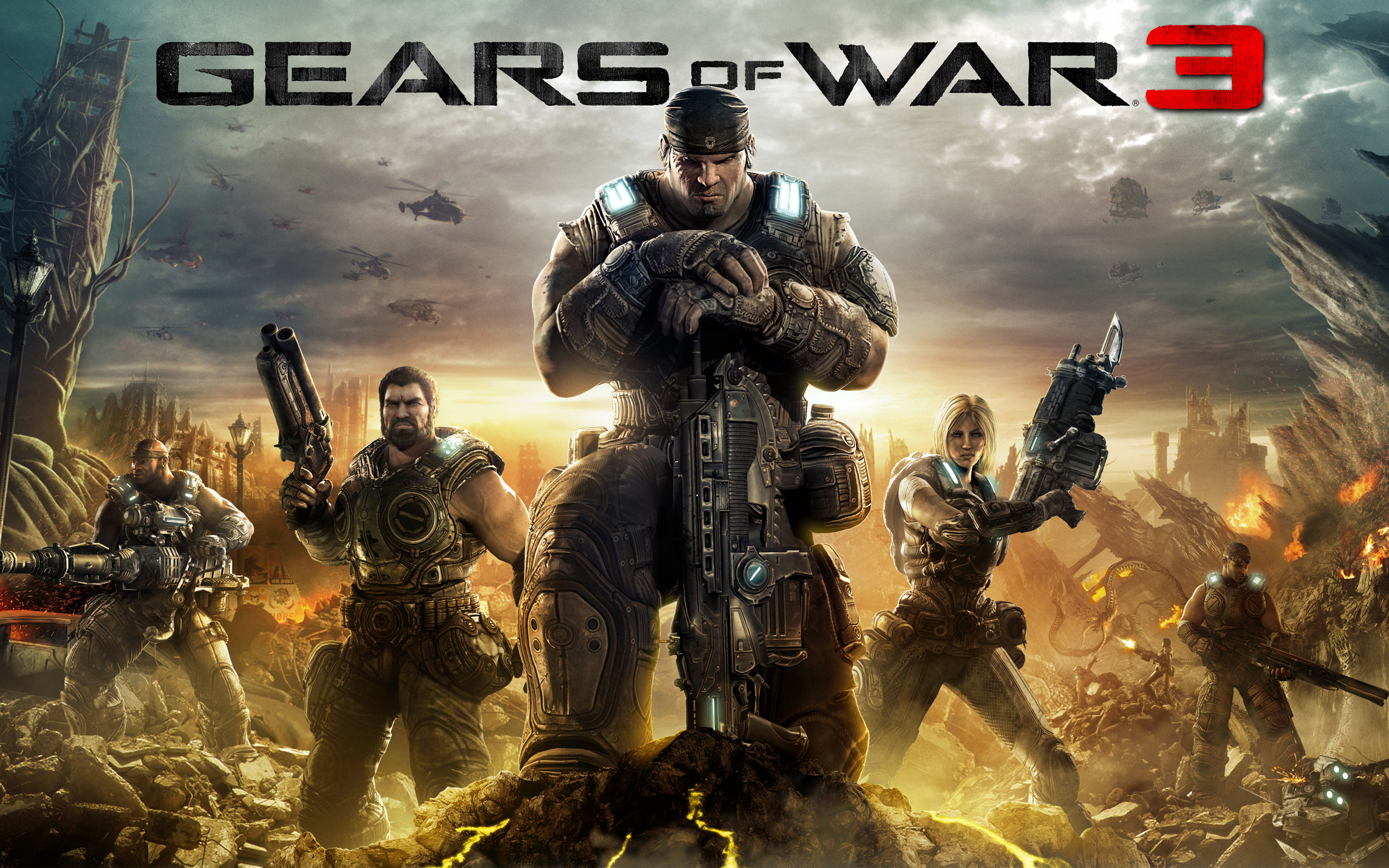 Free Gears of War 3 Wallpaper