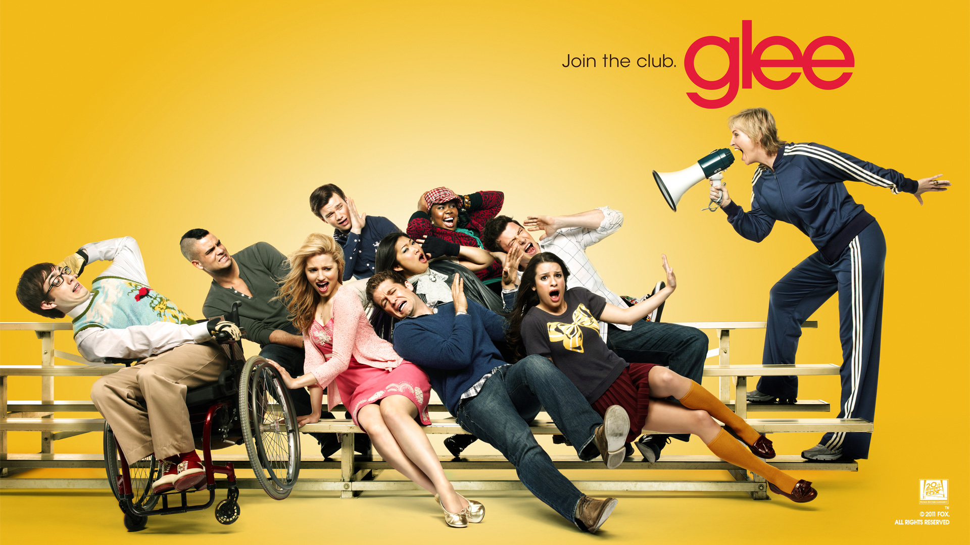 Free Glee Wallpaper